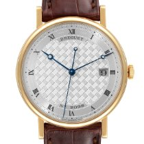 Breguet Yellow gold Automatic Roman numerals 38mm pre-owned Classique