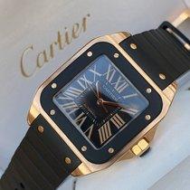 Cartier Santos 100 W20124U2 Unworn Rose gold 38mm Automatic