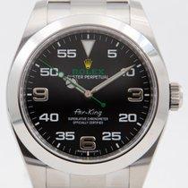 Rolex Air King novo Automático Relógio com caixa e documentos originais 116900