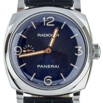 Panerai Radiomir 1940 3 Days Steel 47mm Blue United States of America, Illinois, BUFFALO GROVE