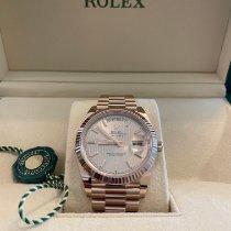 Rolex Day-Date 40 Rose gold 40mm Pink Roman numerals UAE, Dubai
