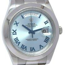 Rolex Day-Date II Platinum 41mm Blue Roman numerals United States of America, Florida, Boca Raton