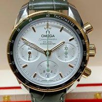 Omega 324.23.38.50.02.001 Or/Acier 2021 Speedmaster 38mm nouveau