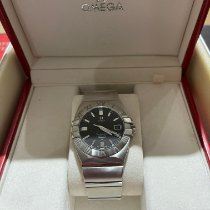 Omega Constellation Double Eagle Steel 38mm Black No numerals