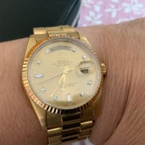 Rolex Day-Date 36 Or jaune 36mm Or Sans chiffres France, LE PERRAY EN YVELINES
