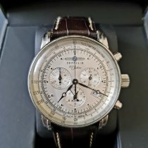 Zeppelin Very good Silver Chronograph India, Thrissur