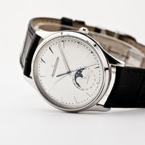Jaeger-LeCoultre Master Ultra Thin Moon Steel 39mm Silver No numerals United States of America, New Jersey, Oradell
