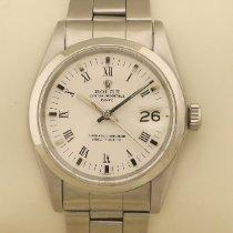 Rolex Oyster Perpetual Date Otel 34mm Alb