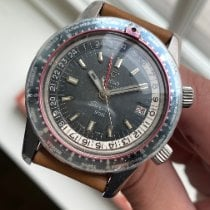 Enicar Steel 43mmmm Automatic 2342 pre-owned United States of America, New York, New York