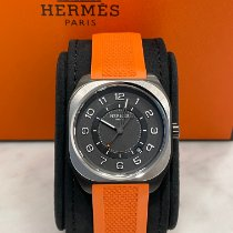 Hermès new Automatic Display back Luminous hands PVD/DLC coating 39mm Titanium Sapphire crystal