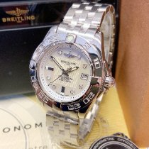Breitling Galactic 32 Steel 32mm White Roman numerals