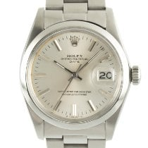 Rolex Oyster Perpetual Date Steel 34mm Silver