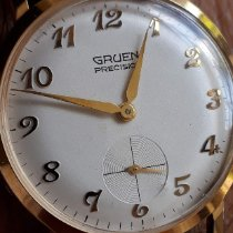 Gruen Precision 35mm Arabic numerals