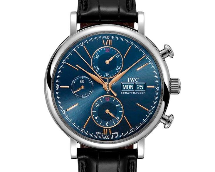 IWC Portofino Chronograph IW391036 2021 new