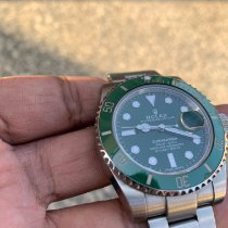 Rolex Submariner Date Steel 40mm Green No numerals India, ganganagar
