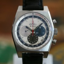 Zenith El Primero New Vintage 1969 Steel 40mm White No numerals