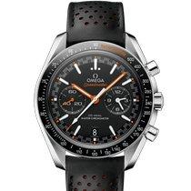 Omega Speedmaster Racing nuevo 2021 Automático Cronógrafo Reloj con estuche y documentos originales 329.32.44.51.01.001