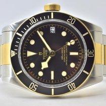 Tudor Black Bay S&G Gold/Stahl 41mm Schwarz Keine Ziffern Deutschland, Iffezheim