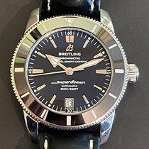 Breitling Superocean Heritage II 42 подержанные 42mm Черный Дата Каучук