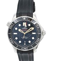 Omega Seamaster Diver 300 M Acier 42mm Noir Sans chiffres France, Lyon