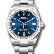 Rolex Oyster Perpetual Date Сталь 36mm Синий