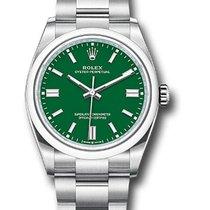 Rolex Сталь 36mm Зеленый