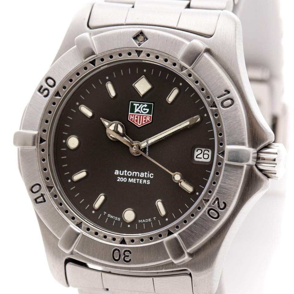 TAG Heuer 2000 669.206 2000 pre-owned
