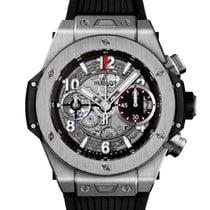 Hublot (ウブロ) ビッグ・バン ウニコ 新品 2021 自動巻き クロノグラフ 正規のボックスと正規の書類付属の時計 441.NX.1170.RX