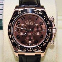 Rolex 116515LN Pозовое золото 2014 Daytona 40mm подержанные