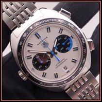 TAG Heuer Autavia Steel 42mm Silver No numerals