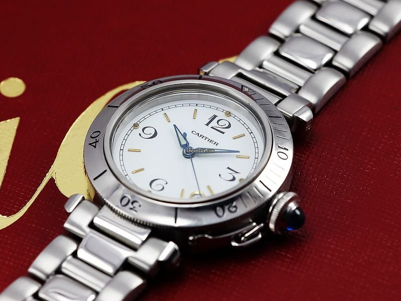 Cartier Pasha C 2324 2000 pre-owned