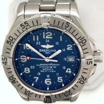 Breitling Superocean Steelfish Steel 42mm Blue Arabic numerals