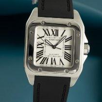 Cartier Santos 100 Stahl 33mm Weiß Deutschland, Chemnitz