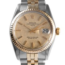 Rolex Oyster Perpetual Date Gold/Steel 34mm Gold