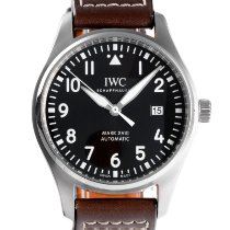 IWC Pilot Mark Staal 40mm Zwart