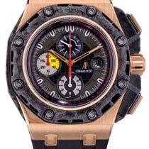 Audemars Piguet Royal Oak Offshore Grand Prix Pозовое золото 44mm Черный Без цифр