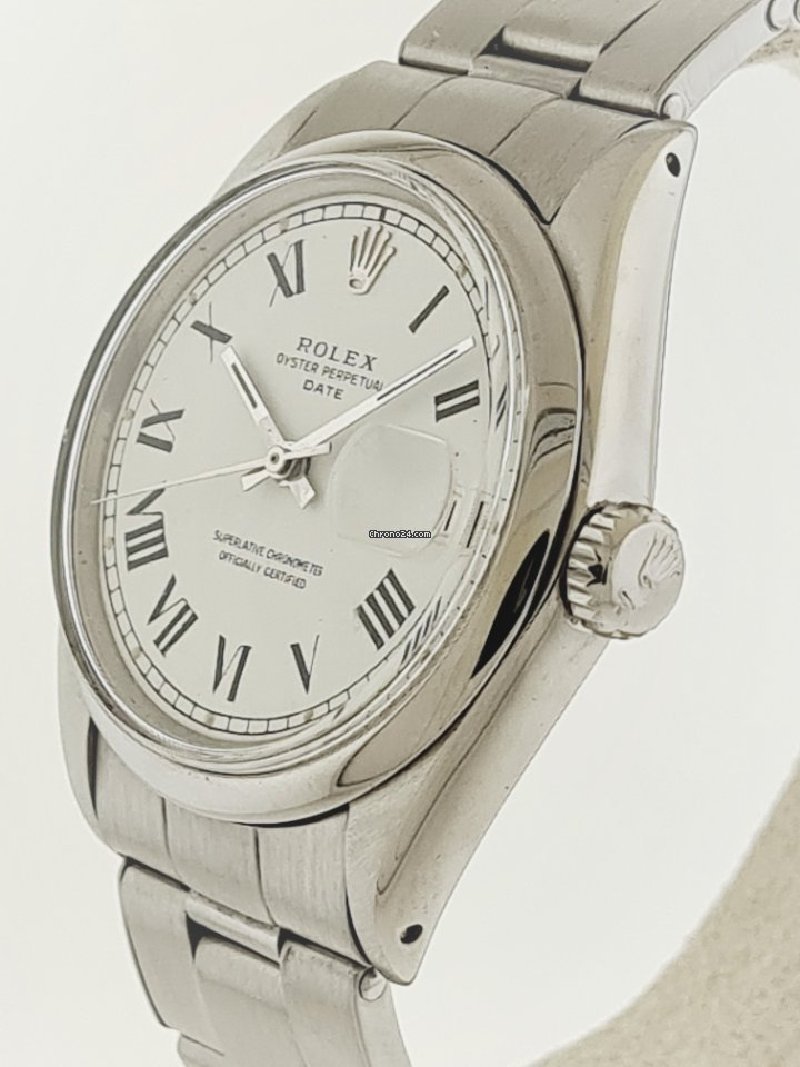 Rolex Oyster Perpetual Date 1500 1968 usados