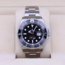 Rolex Sea-Dweller Сталь 43mm Черный Без цифр
