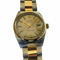 Rolex Silver Automatic Champagne 36mm pre-owned Datejust