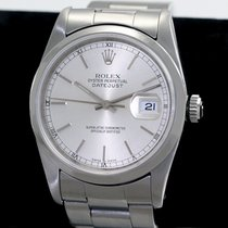 Rolex Silver Automatic Silver pre-owned Datejust
