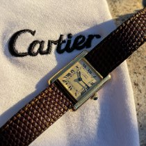 Cartier Tank Vermeil Prata 23mm Champanhe Romanos Portugal, custoias , matosinhos