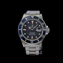 Rolex Submariner Date Ατσάλι 40mm Μαύρο Xωρίς ψηφία