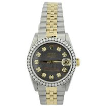Rolex Lady-Datejust Gold/Steel 31mm Mother of pearl No numerals United States of America, California, Fullerton