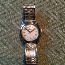 Rolex Steel 30mm Silver Arabic numerals