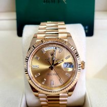 Rolex Day-Date 40 Yellow gold 40mm Gold No numerals United States of America, California, Los Angeles