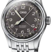 Oris 01 754 7741 4064-07 8 20 22 Steel 2021 Big Crown Pointer Date 40mm new