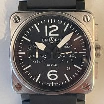 Bell & Ross BR 03-94 Chronographe Steel 42mm Black Arabic numerals United States of America, California, Upland