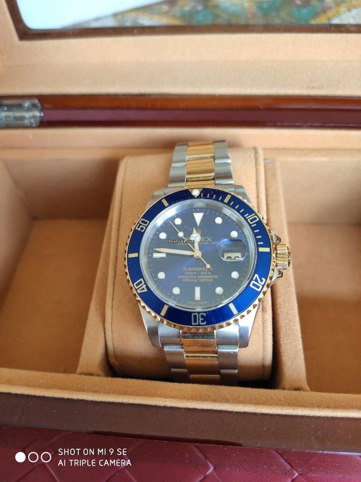 Rolex Submariner Date 16613 Sultan usados