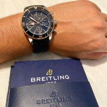 Breitling Superocean Heritage II Chronographe Gold/Steel 44mm Black No numerals United States of America, Hawaii, Kihei