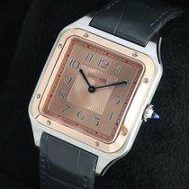 Cartier Santos Dumont W2SA0025 Ny Guld/Stål Manuell uppvridning